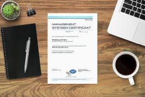 Protinus IT heeft haar certificeringen geupdate naar ISO 9001:2015 en ISO 14001:2015
